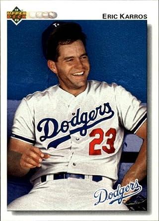 Amazoncom 1992 Upper Deck Baseball Card 534 Eric Karros