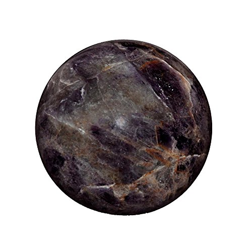 Satyamani Amethyst Gemstone Sphere Ball (101gm-200gm) by Satyamani
