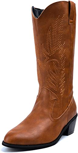 Womens Cowboy Boots Ladies Winter