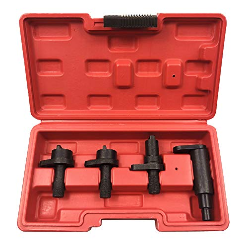 Engine Timing Tools 4pcs Car Engine Timer Tool Kit for Polo Fox Seat Ibiza Fabia 449834 Well-Packed in Carry Case 1.2L 6V 12V