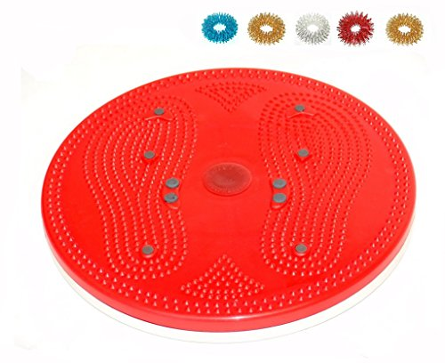 Acupressure Pyramid Magnetic Therapy Twister (Body Trimmer, Shaper, Weight Loss) + Free 5 Sujok Rings (Stimulation Of Auricular Acupuncture Points In Weight Loss)