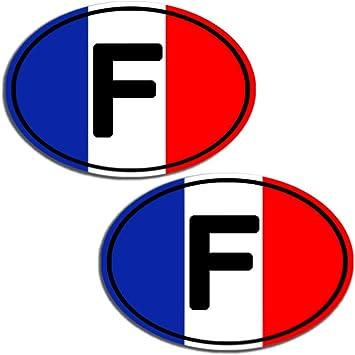 B 195 Vinyl France Flag Sticker Car Moto Motorcycle Helmet Window Tuning Set Of 2 Auto