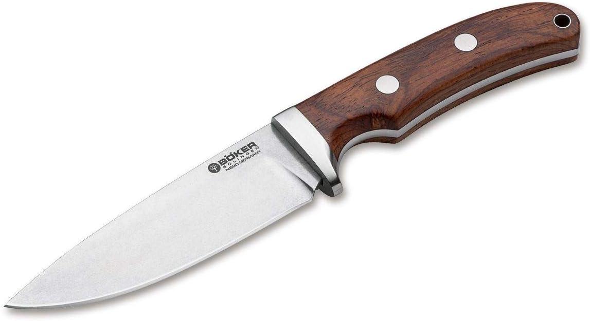 Böker Savannah Cocobolo Feststehendes Messer: Amazon.de: Sport & Freizeit - Böker Messer