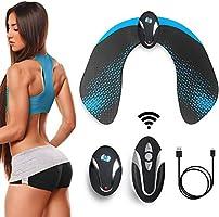 EGEYI Electrostimulateur Musculaire Fessier, Appareil de Hips Massage Portable USB Rechargeable,Sculpter Les Courbes...
