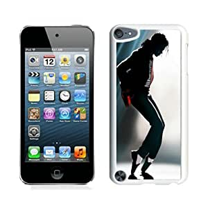 Fashion And Unique iPod Touch 5 Case Designed With Michael Jackson White iPod Touch 5 Cover