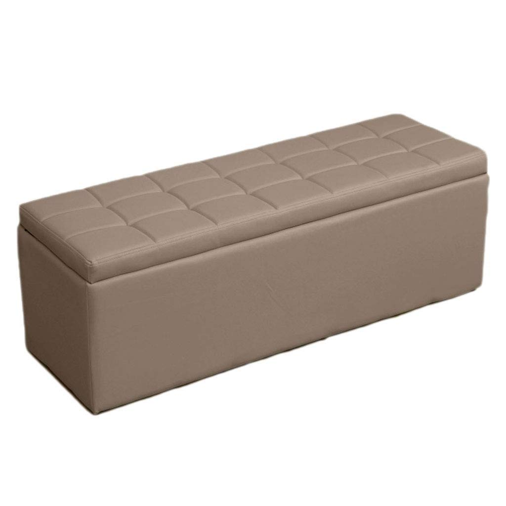 Footstoolsオスマン収納チェストファッションパフソファベンチシートスペース節約最大負荷300キログラムスツール、複数サイズ/カラーオプション (色 : 白, サイズ さいず : 90*30*35cm) B07QJ65PSJ Gray 60*40*40cm 60*40*40cm|Gray