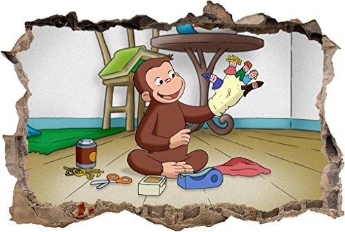 Curious George Wall - 7
