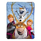 Disney Frozen, Out in The Cold Fleece Throw Blanket, 46'' x 60''