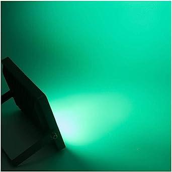 Focos Led Exterior, Vistoso Al Aire Libre Impermeable Jardín Paisaje Color Verde Cartelera Publicidad Encendiendo (Color : Grass green): Amazon.es: Iluminación