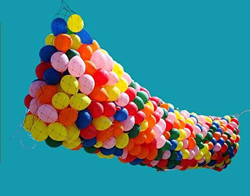 (RenoSupplies Balloon Drop KIT Ballons Balloon Drop for Parties Balloon KIT 7x4)