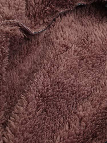 Mujer Para Invierno Bolsillos Capa Vintage Libre Gruesos Riou Abrigos Grande Rebajas Mujer Larga Señoras Lana Capucha Cremallera Manga Azul Talla Abrigo Con De U5qdxFwId