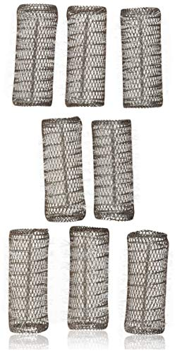 - 2 Pack (TOTAL 8 ROLLERS w/ 8 Pins) HAIR STYLING BRUSH ROLLERS & PINS Hair Curlers 3