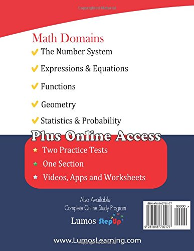 ACT Aspire Test Prep: 8th Grade Math Practice Workbook and Full ...