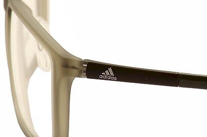 0b1cce39d77 adidas Eyeglasses Litefit 2.0 4610 46-10 6059 Matte Olive Optical Frame  56mm  Amazon.co.uk  Sports   Outdoors