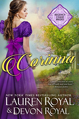 Corinna: A Sweet & Clean Historical Romance (Regency Chase Brides Book 3)