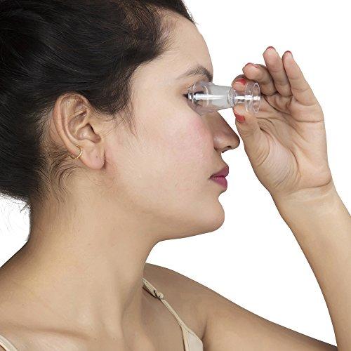 Transparent Eye Wash Cups for Effective Eye Cleansing | Eye Shaped Rim  Snug Fit | Set of 2