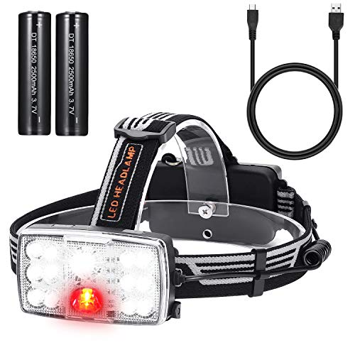 Led Head Torch Red Light in US - 6