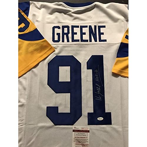 separation shoes 16c75 792bc durable modeling Autographed/Signed KEVIN GREENE