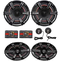 MB Quart XC1-216 X-Line 6.5 180w Car Component Speakers+6x9 Coaxial Speakers