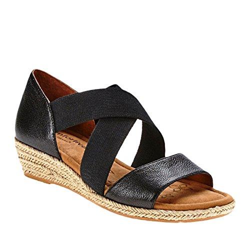 Comfortiva Brye Women Us 7.5 W Sandalo Con Zeppa Nera