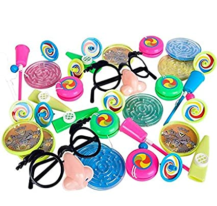 Amazon.com: Juguetes para piñata mezcla 64 piezas ...