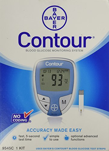 Bayer Contour Blood Glucose Meter Only Supplies Sold