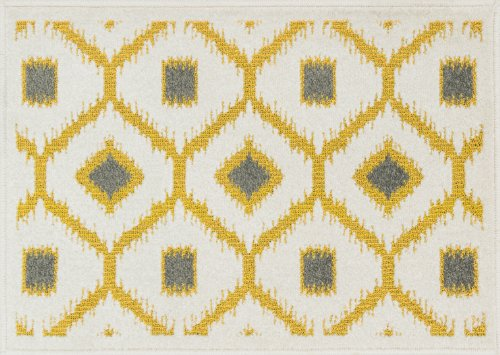 Loloi Rugs, Terrace Collection - Citron/Ivory Area Rug, 2'-5