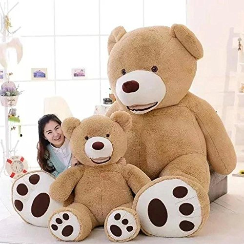 TrendsMall Stuffed Teddy Bears With Big Footprints Plush Animal Toys 39 Inch ()