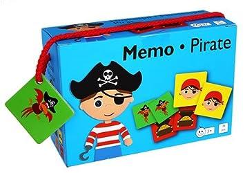 Barbo Toys Classic- Barbo Toys Memo Game Piratas (5931)