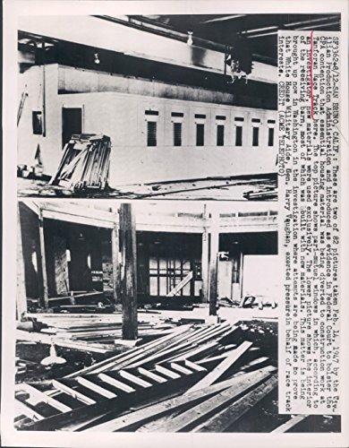 1949 San Bruno CA Tanforan Race Track Harry Vaughan Inside Wire - Tanforan Ca