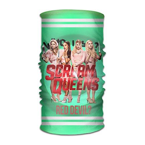 Carina Scream Team Queens One Size Fancy Outdoor Sport Bandanna
