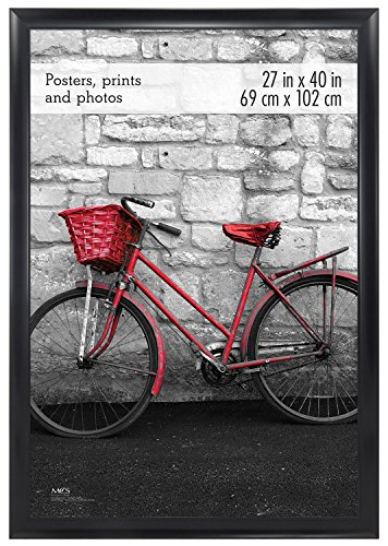 MCS 27x40 Inch Wide Scoop Poster Frame, Black (65696) by MCS
