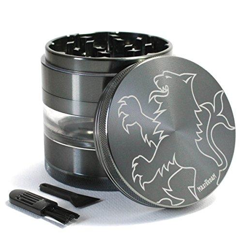 large 5 piece herb grinder - 1