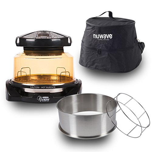 NuWave 20528 Elite Infrared Oven Turkey Kit Carrying Case, Black