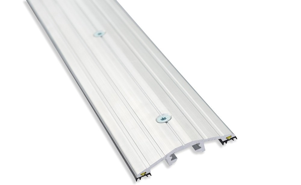 Weather Stop WS011-250 2.5 m x 15 mm High Commercial Door Threshold Seal Kit - Aluminium