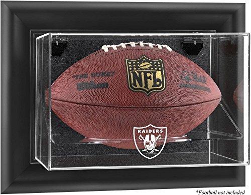 Raiders Logo Display Case - Mounted Memories Oakland Raiders Football Logo Display Case