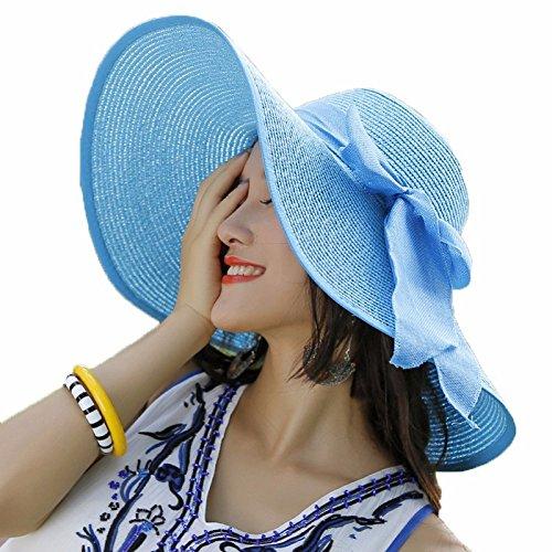 30% de descuento LOF-fei Mujer verano Sombrero para el sol moda sombrero de 5b37dd80d18