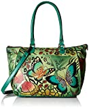 Anuschka Anna Handpainted Leather Large Tote, Animal Butterfly