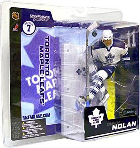 cks NHL Hockey Series #7: #11 Owen Nolan in White Toronto Maple Leafs Uniform ()