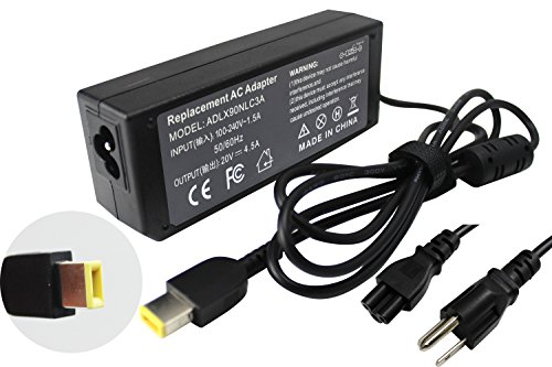 ROCKETY New 90W USB Charger for Lenovo G500 S500 G700 Carbon