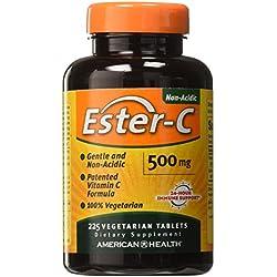 American Health Ester-C 500 Mg Vegetarian Tablets, 225 Count