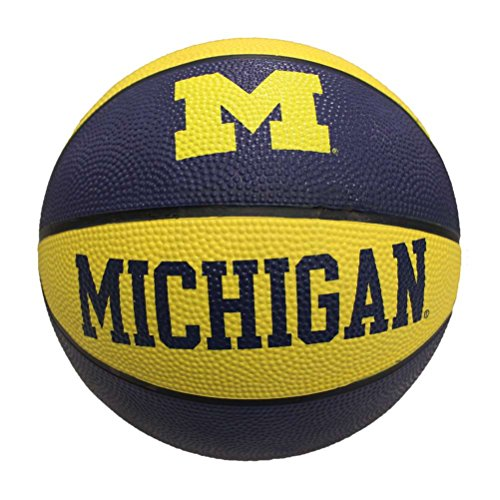 Michigan Wolverines Mini Rubber Basketball by Baden