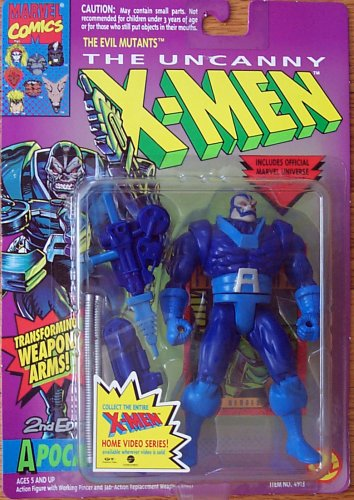 Toy Biz Marvel The Uncanny X-Men Apocalypse (2nd Edition) Action Figure 5 Inches