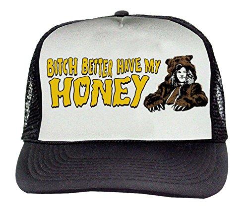 Workaholics Bitch Better Have My Honey Brown Trucker Hat]()
