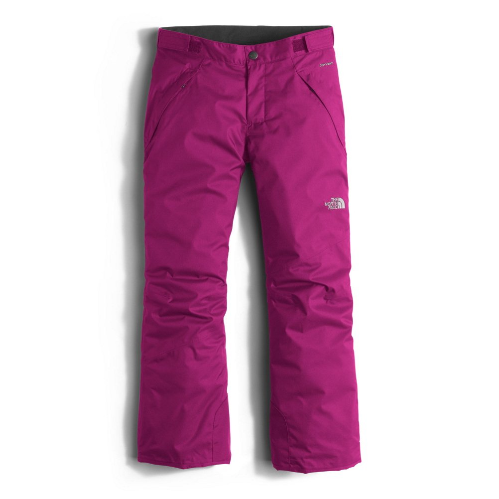 The North Face Freedom Insulated Girls Ski Pants - Small/Roxbury Pink