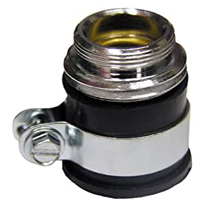 Lasco 09 1657 Push On Rubber Boot Male Hose Thread And Male Aerator Thread Faucet Aerators And