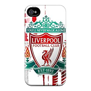 Shock Absorption Hard Phone Covers For Iphone 6plus (NCg2688DoWc) Custom Stylish Beloved Fc Of England Liverpool Series