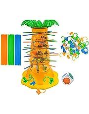 illuMMW Pussel leksak apa flip rolig apa fall skrivbord interaktiv spel lämplig för barn