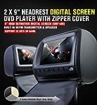 """XTRONS 2x Car Headrest dvd Player 9""""..."""
