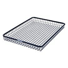 Rhino Rack Wire Mesh Basket with Multi-Purpose U-Bolt Fit Kit